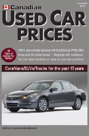 VMR Canadian Used Car Prices